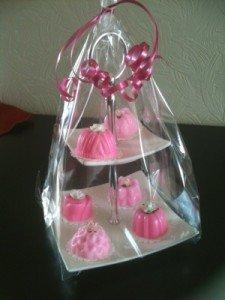 Cupcakes gemaakt van gietzeep