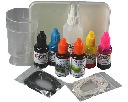 Startpakket zelf zeep maken premium