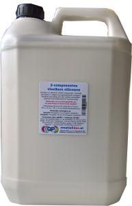 Vloeibare siliconenrubber, Vloeibaar rubber / siliconen 6 kilo