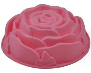 Zeepmallen: gietzeep decoraties maken 1 grote roos