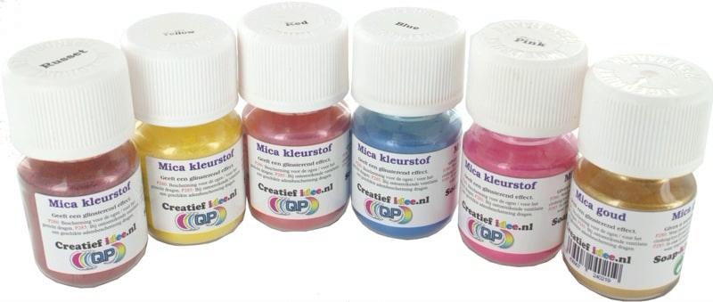 Mica kleurstoffen