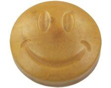 Transparante zeep met goud mica poeder