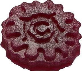 Roze kleurstof met parelmoer mica poeder