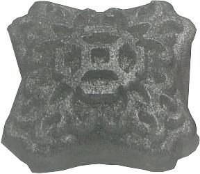 Transparante zeep met zilver pigment metallic poeder